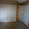 Second bedroom or office with 3 large closets.