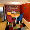 Dinette open to kitchen and family room