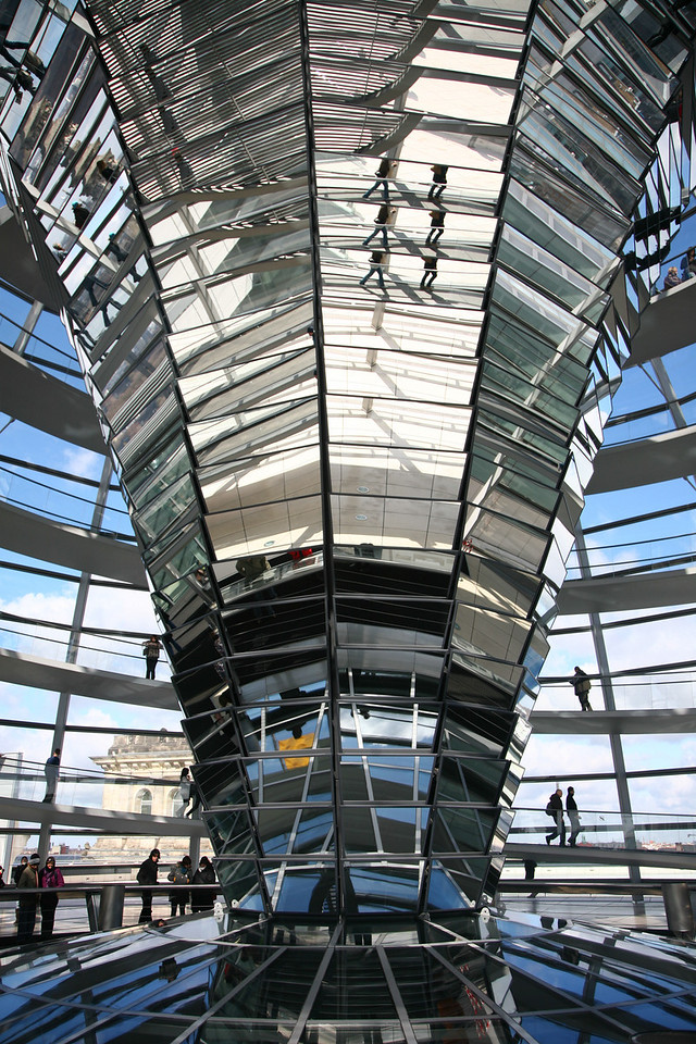"My last day, spent the morning going up into the Reichstag.<br />  <a href=""http://en.wikipedia.org/wiki/Reichstag_"">http://en.wikipedia.org/wiki/Reichstag_</a>(building)"