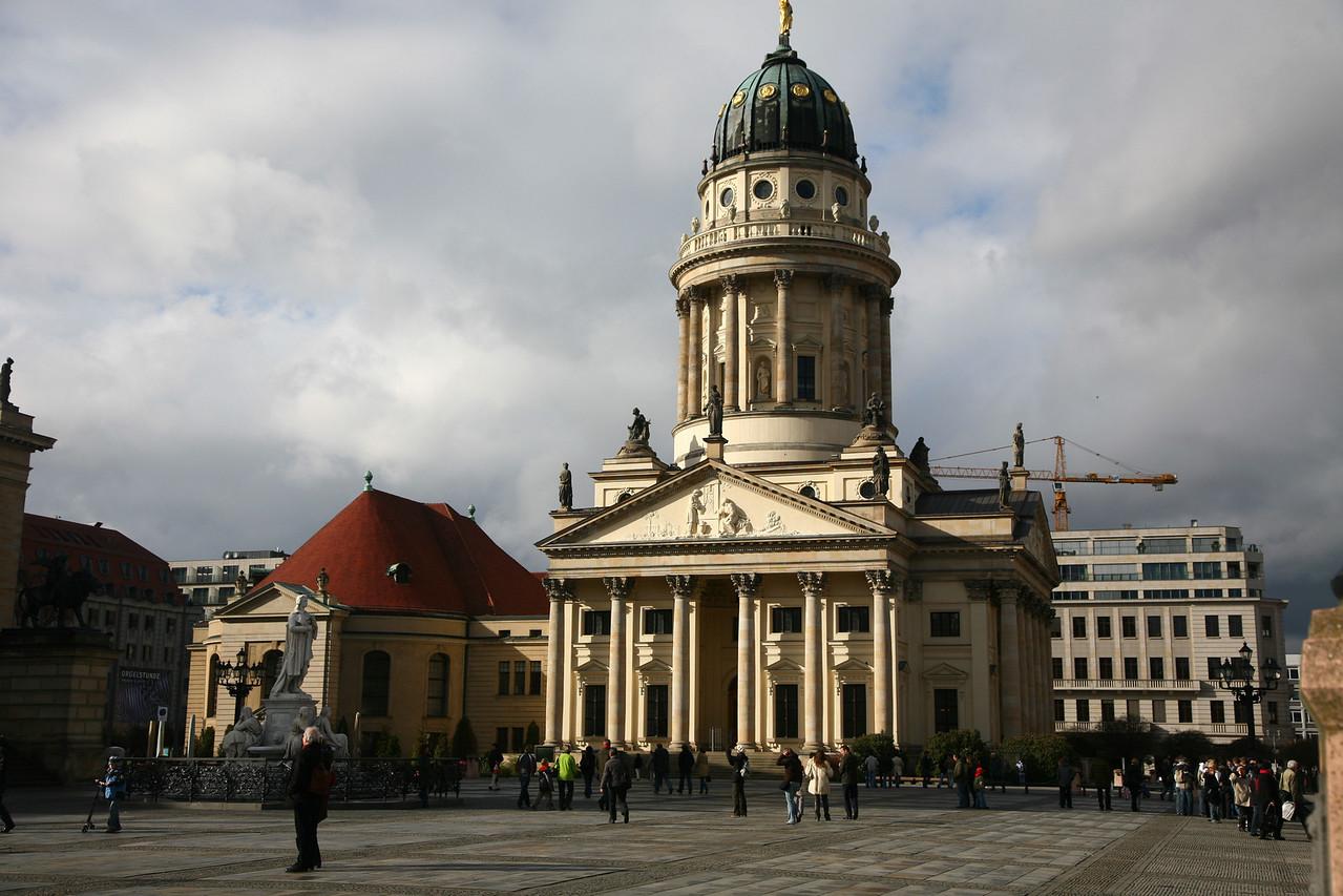 Franzšsischer Dom in the center of Berlin, the french church.