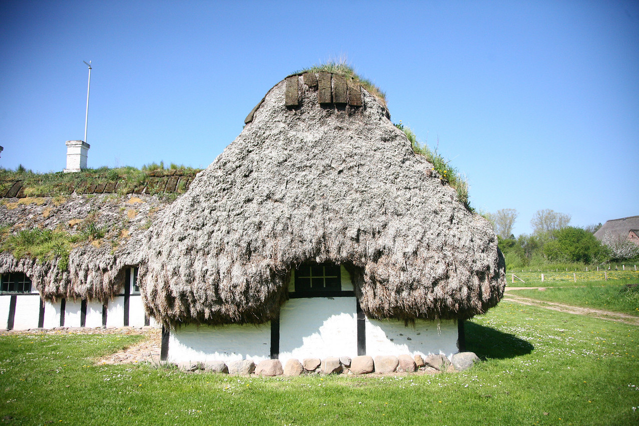 now THERE is a thatched roof!