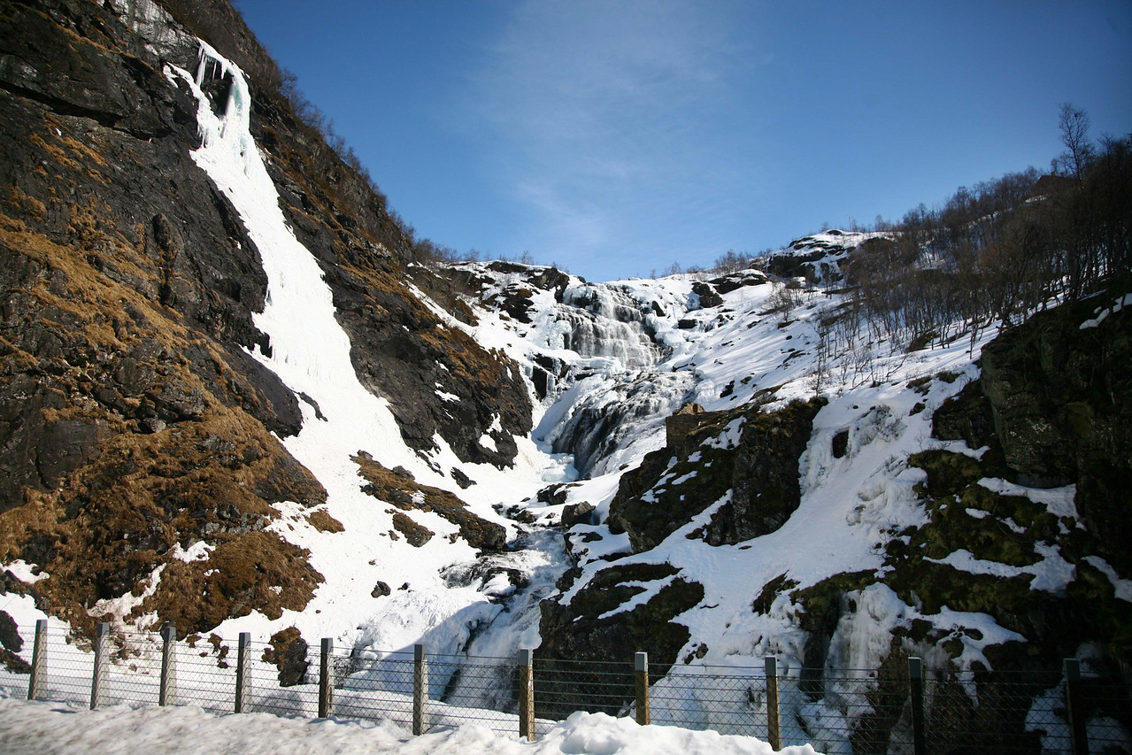 The waterfall!