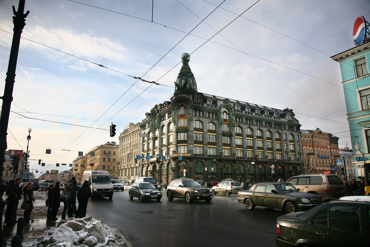On Nevsky Prospect