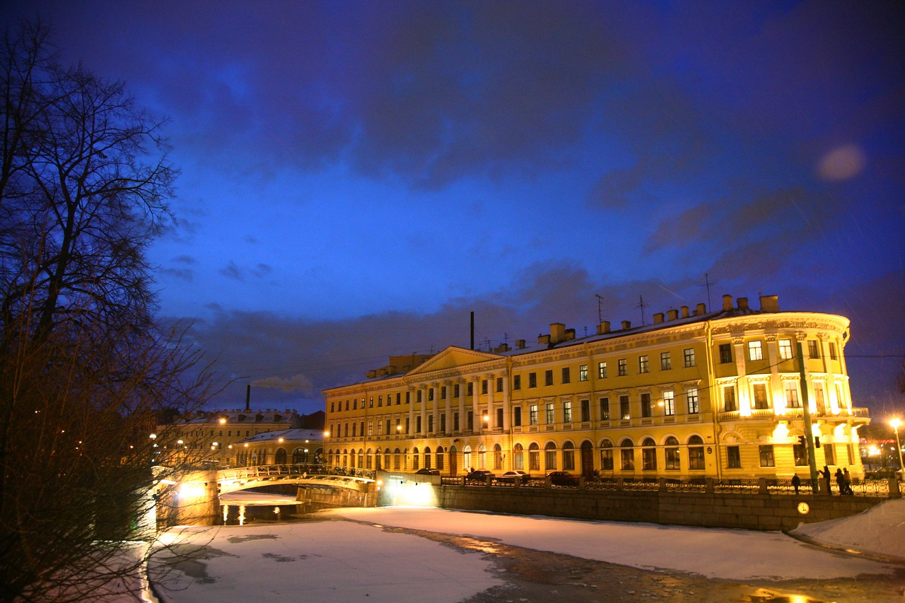 St. Petersburg is amazingly pretty, especially in winter