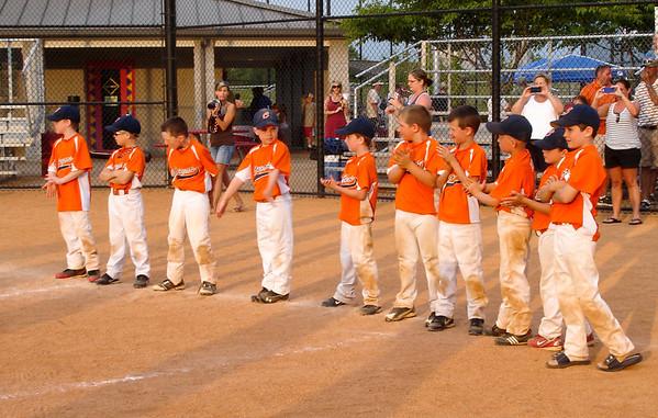 Cougars Baseball 2012