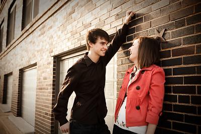 Lindsay and Austin engagement