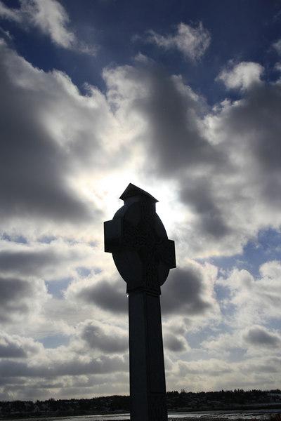 Celtic cross memorial