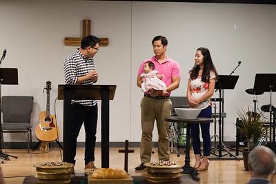 Matt & Jen | Elise's Baptism 10/01/2016