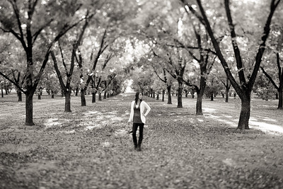 Allison in the Pecan Orchards 2010