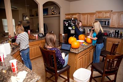 Pumpkin Carving 2012!