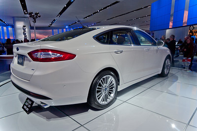 2013 Ford Fusion More info here: http://www.automobilemag.com/auto_shows/detroit/2012/1201_2013_ford_fusion/index.html