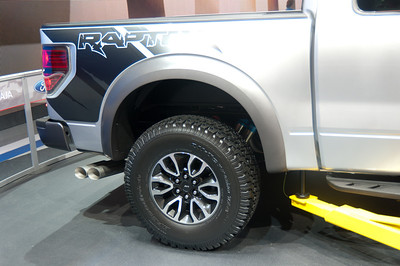 2013 Ford Raptor More info here: http://www.motortrend.com/features/auto_news/2008/112_0901_2010_ford_f150_svt_raptor/  If your crazy about it go here: http://www.raptorforumz.com/