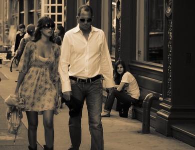 Manhattan Black and White Babes - September 22nd, 2007