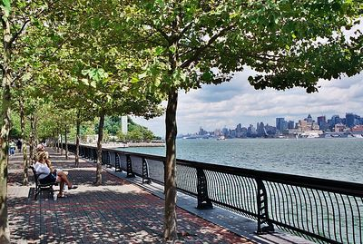 Hoboken, a view of NYC across the water (1).