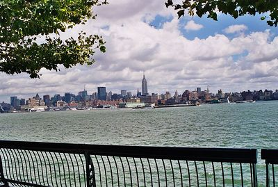 Hoboken, a view of NYC across the water (2). **I will visit this at night to get a nice shot with the building lights.