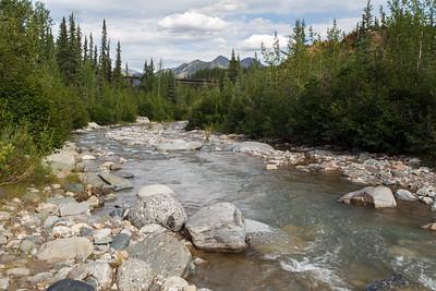 Stream near Denali Visitor Center