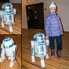 Papercraft R2D2 by Andre Vandal