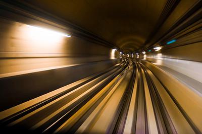 Moving faster underground
