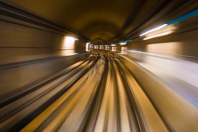 Moving underground