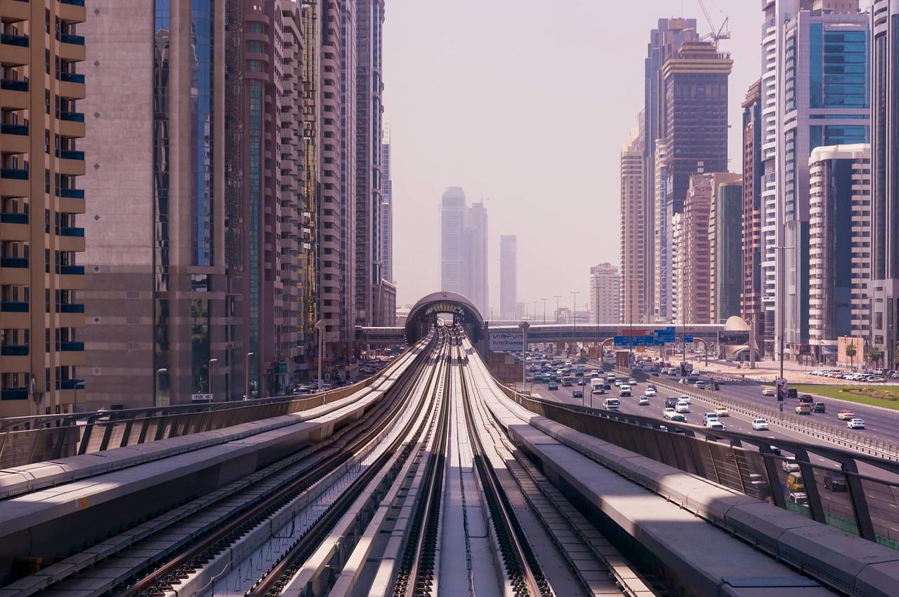 DIFC Station, Shaikh Zayed Road
