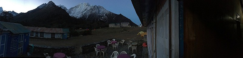 Our lodge just outside the Tengboche Monastry