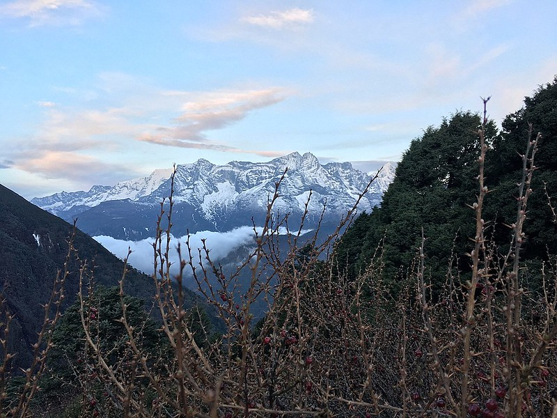 View from Tengboche