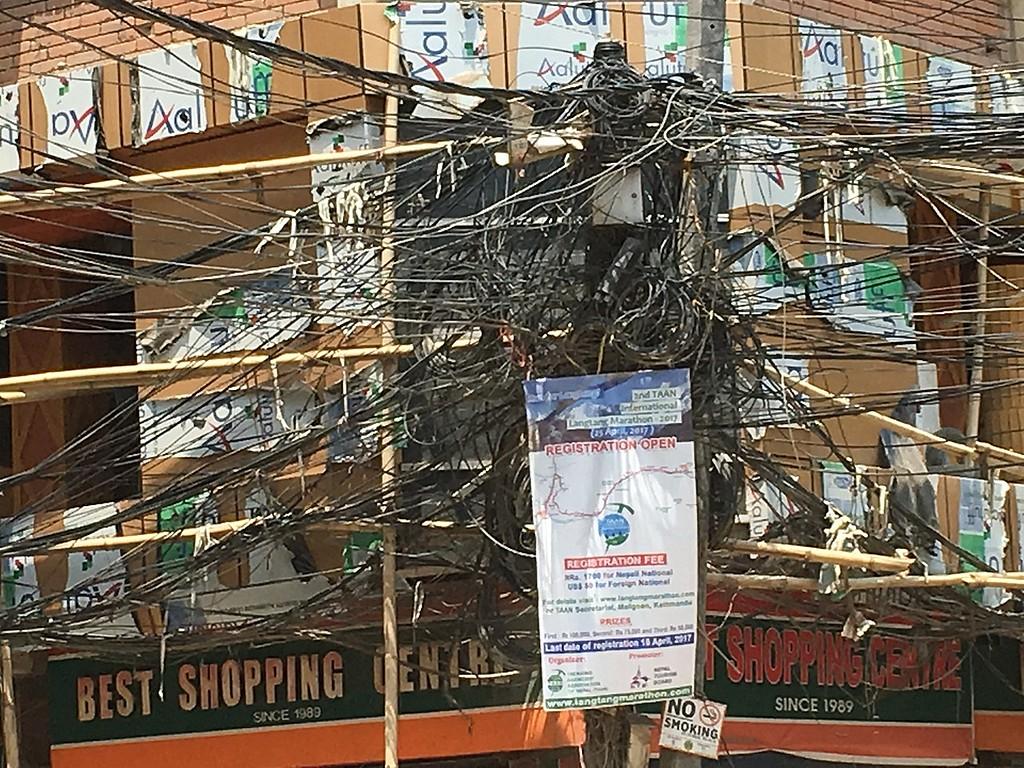 Kathmandu cabling