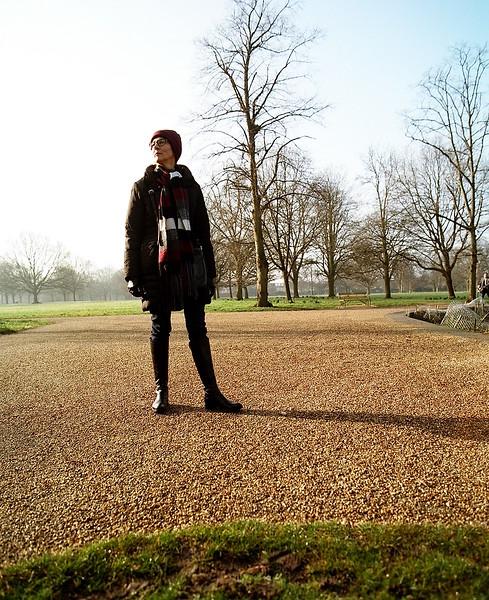 Dorota in park