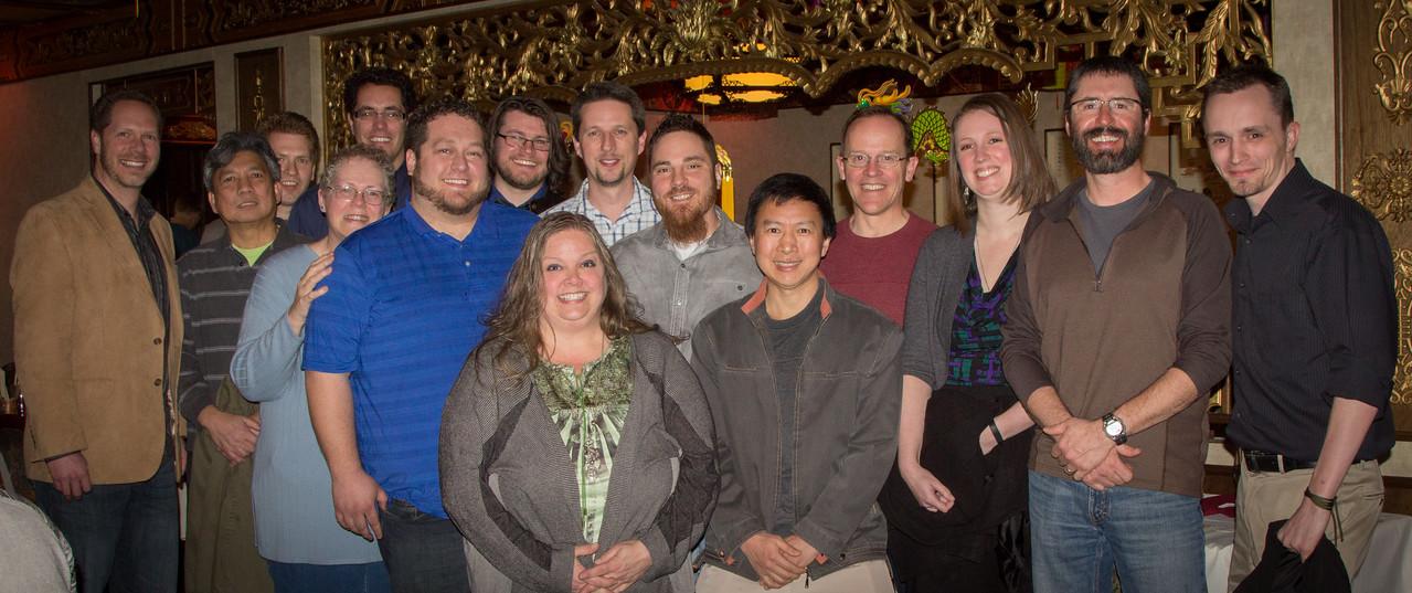 EarthSoft Utah Dinner - Employees
