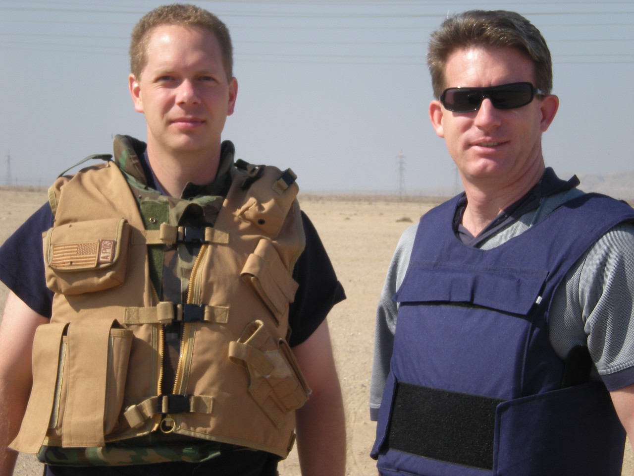 What you wear when you arrive in Kuwait (with Brian Freeman)