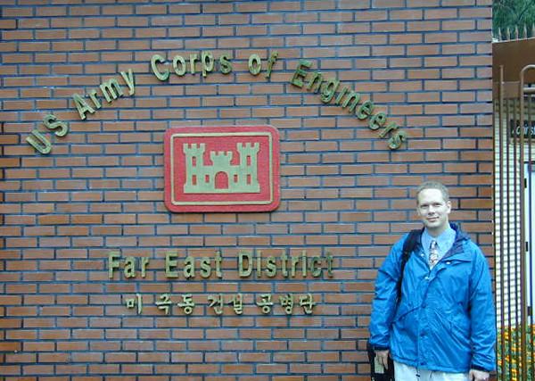 Scot teaching EQuIS at the Far East District, Seoul, Korea
