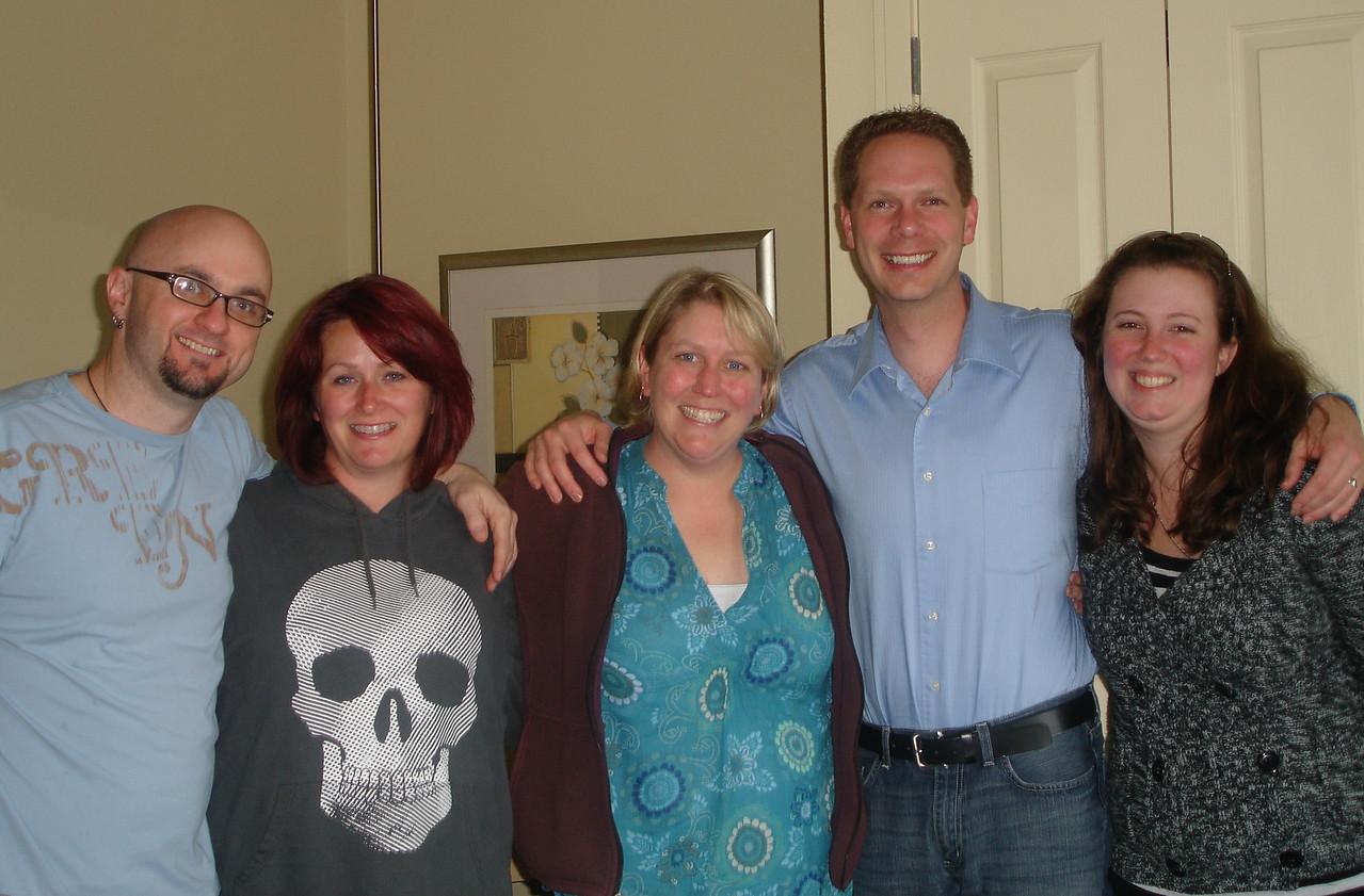 Bob, Tammy, Jen, Scot, and Emily