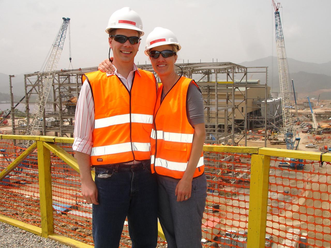 Scot and Lisa at Barrick PVDC, Dominican Republic
