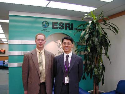 Scot at ESRI Hong Kong