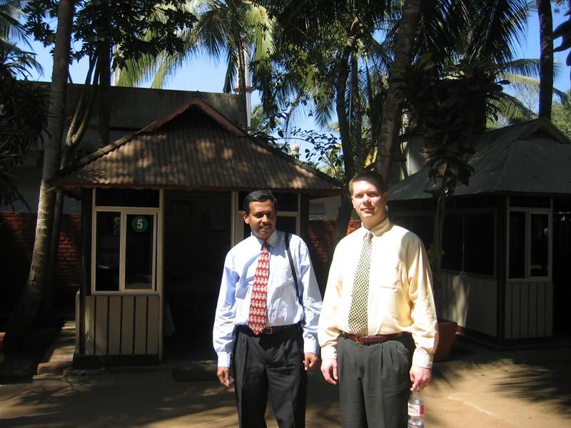 Working at Software Incubator in Trivandrum, Kerala, India