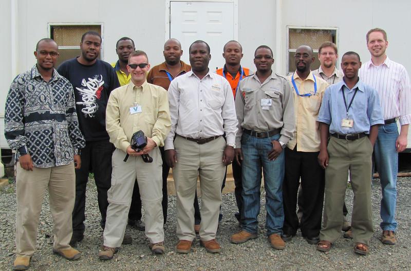 Barrick EQuIS Training at Bulyanhulu mine, Tanzania