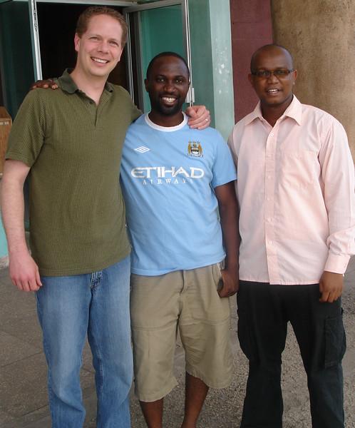 Scot and Ally Kondo in Dar es Salaam