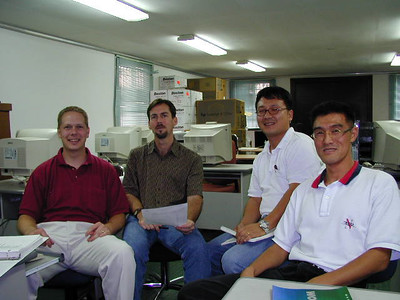 Scot teaching EQuIS at the Far East District, Seoul, Korea