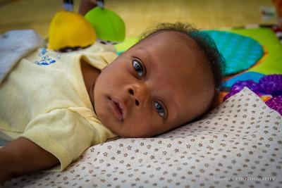 Elijah at 6 weeks