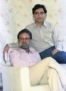 Harsh Javeri & Suchit Nanda picture shot for War On Virus book.