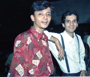 Jhankar Shah with Neville Bulsara