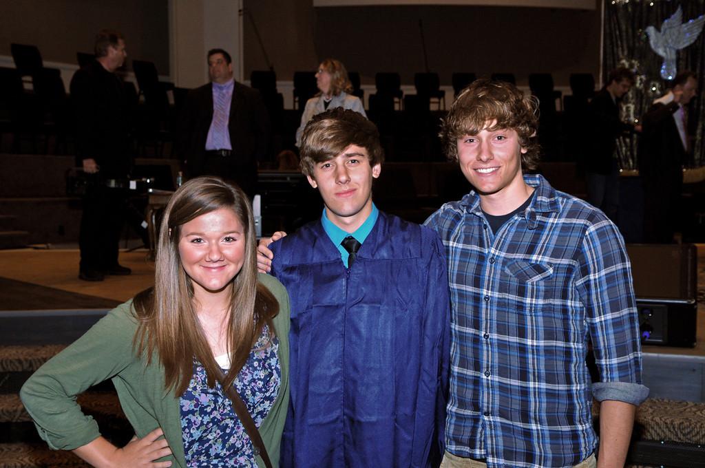 2011 Cody Graduation Siblings