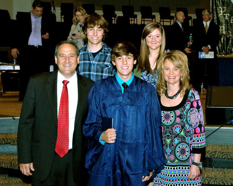 2011 Cody Graduation immediate family