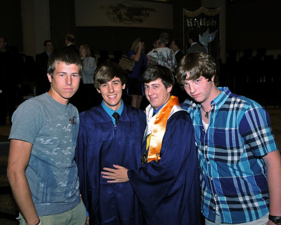 2011 Cody Graduation Friends