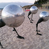 Sculptures By The Sea - Wanderers Conventus by Brad Jackson
