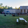 Perth Observatory Summer Lecture - Back Lawn Ready