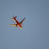 Jet passes over Clontarf Foreshore