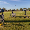 Setting up for Astrofest Mt Magnet
