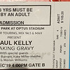 Paul Kelly Concert