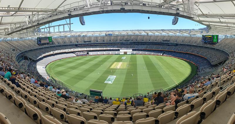 Day 2 First Test Aus v NZ
